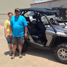 Thanks to Julia and Emery Pope from Poplarville MS for getting a 2014 Can-Am Commander XT 800 at Hattiesburg Cycles
