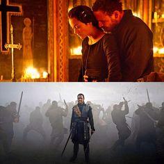 Michael Fassbender & Marion Cotillard in Macbeth, I must see this! 8)