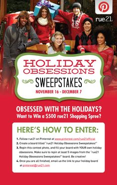 Show us YOUR Holiday Obsessions for a chance to WIN a Shopping Spree! Official Rules & Regulations are here. Shopping Spree, Rue 21, Make Me Happy, Favorite Holiday, Helpful Hints, Favorite Quotes, Cool Things To Buy, Official Rules, My Love