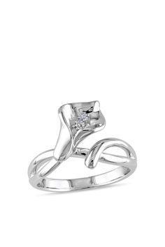 Calla Lily Ring. SS. love callas~~