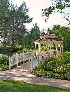 Westlake Village Inn, Lakeside Gazebo, Wedding Venues