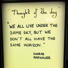 CN station words of wisdom...