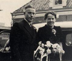Tante Nel trouwt met Cor Bakker