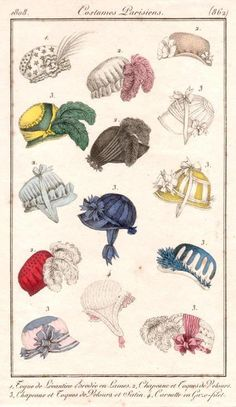 1808 French Fashion Plate
