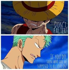 Luffy and Zoro