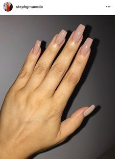 Simply Solid Color Gaaaaaaaabbby I Want This Color Nails