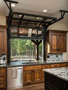 Amazing kitchen windows. Definitely going in my house.