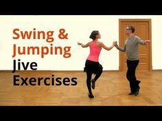 Basic Jive Exercises - Swing and Jumping Style - YouTube