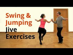 Kick Ball Change in Jive | Exercises | Practice Routine - YouTube
