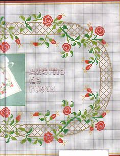 This Pin was discovered by sev Cross Stitch Rose, Cross Stitch Borders, Cross Stitch Flowers, Cross Stitch Designs, Cross Stitch Patterns, Rose Embroidery, Cross Stitch Embroidery, Beaded Cross, Bargello