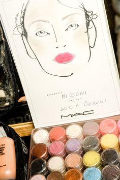 Lipstick Lover: Missoni Spring '13 Fluro Pink Lips