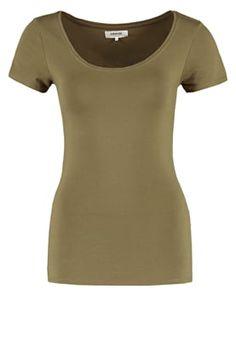 bestil Zalando Essentials T-shirts basic - khaki til kr 63,00 (02-04-16). Køb hos Zalando og få gratis levering.