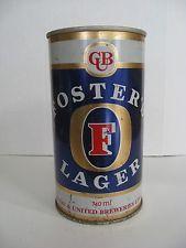 Foster Lager, 25 Fl .Oz. Melbourne, Australia steel beer can