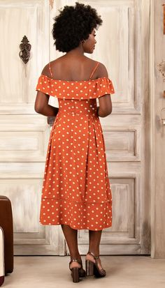 Terracota, Fashion Dresses, Chic, Jeans, Vintage, Floral Dresses, Trends, Style, Patterned Dress