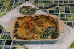 Low Carb Cream of Spinach.