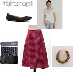 #fairfashapril: Piece with a Story- We are linking arms to spread the word about Fashion Revolution Day. Check out our blog once a week this month to see how we are styling ethically sourced items for #fairfashapril.  #ethicalfashion #fairtrade #ottomademyshoes #piecewithastory