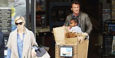 Charlize Theron and Sean Penn with son
