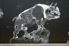 Impermanent Animal Murals Drawn with Chalk and Oil Pastel by Philippe Baudelocque street art pastel murals drawings chalk Chalk Pastel Art, Chalk Pastels, Oil Pastels, Chalk Drawings, Art Drawings, Constellations, Minoan Art, Journal Du Design, Urbane Kunst