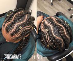 Flawless braids by @nisaraye - https://blackhairinformation.com/hairstyle-gallery/flawless-braids-nisaraye-5/