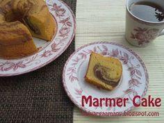 Keluarga Kami: Marmer Cake Jadul