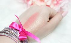 Golden Rose Blush & Highlighter Sticks  Swatches  Róż i Rozświetlacz w sztyfcie Golden Rose Swatche