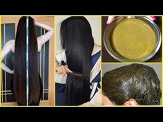 Extreme hair growth mask with henna powder - Glowpink