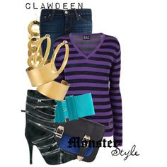 Designer Clothes, Shoes & Bags for Women Monster High Clothes, Brooklyn Style, Cartoon Outfits, Inspired Outfits, Disneybound, Closets, High Fashion, Boards, Queen