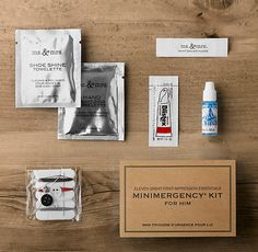 RH's Minimergency® Kit for Him:For grooming on the go, a gentleman need never again leave home without these 11 essentials – perfectly sized for storing in car or briefcase. Minimergency Kit, Coffee Lover Gifts, Coffee Lovers, Web Design Projects, Restoration Hardware, Cute Designs, Coffee Beans, Stocking Stuffers, Diy Tutorial