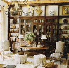 Beautiful shelves and cabinets