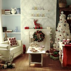 Hard to believe it's miniature! featured in the Dec12 issue of Dolls House and Miniature Scene. www.dollshousemag.co.uk