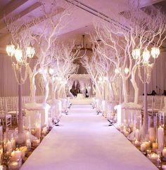 Beautiful Winter Aisle!