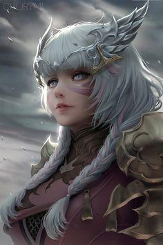 Sad by chubymi on game art, fantasy women, fantasy girl, female Anime Art Fantasy, Fantasy Girl, Elfen Fantasy, Art Anime, Fantasy Kunst, Fantasy Women, Fantasy Artwork, Anime Art Girl, Fantasy Character Design