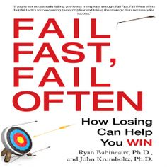 "Ryan Babineaux fans! His ""Fail Fast, Fail Often"" (How Losing Can Help You Win) was recently published in audio. Sample it here: http://amblingbooks.com/books/view/fail_fast_fail_often"