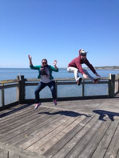 Motion: Two of my kids at Silver Sands State Park in Connecticut. Memories of a perfect spring morning walking at the shore of Long Island Sound. So many birds and wildflowers!