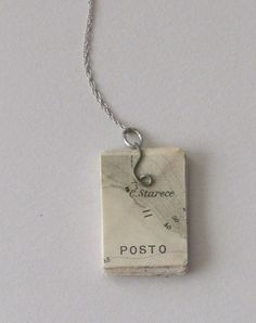UnBound: A Paper Art Blog: Tiny Book Necklaces