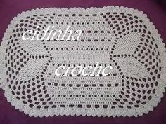 Tapete Simples de crochê oval em barbante parte 2 - crochet rug - alfombra de ganchillo - YouTube
