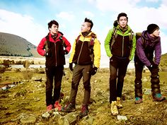 BIGBANG GOES ON HIKING TRIPS?!?!?! I DID NOT KNOW DAT WOW THEY'RE FANTASTIC BABY'S THEY SHOULD DANCE!!!!!!!!! Woo hoo