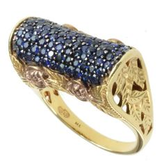 @Overstock - Dallas Prince Gold over Silver Blue Sapphire Ring - Blue sapphire ringSterling silver jewelryClick here for ring sizing guide   http://www.overstock.com/Jewelry-Watches/Dallas-Prince-Gold-over-Silver-Blue-Sapphire-Ring/7957754/product.html?CID=214117 $128.99