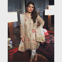 Syra shehroz looking beautiful as always in a Zara Shahjahan Kurta. #luxury #fashion #zarashahjahan #bridal #syrashehroz