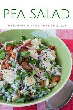Pea Salad - Martha Stewarts Pea Salad recipe...perfection!