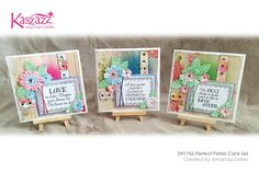 This project will show you how to create a gorgeous set of three cards showcasing the Heartfelt range of stamps and SB Papers. Some Cards, Canvas Board, Finding Yourself, Projects To Try, Workshop, Card Making, Scrapbooking Ideas, Paper Crafts, Card Ideas