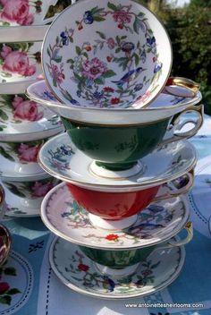 4:00 Tea...Variations on a theme.