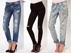 pantalones de moda para mujer rotos - Buscar con Google