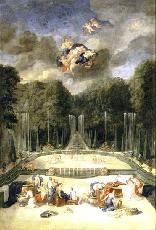 Bosquet du Theatre d'Eau, c. 1690 by Jean Cotelle
