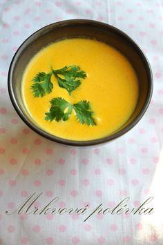 *MRKVOVÁ POLÉVKA SE ZÁZVOREM*   Polévka je zdravá, rychlá, dietní a moc dobrá, co víc si můžeme přát :) Všem kořenům zdar!!!