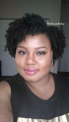 Twist Out on natural hair using SheaMoisture Coconut & Hibiscus Smoothie and the Gel Souffle. June 2014