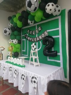 Sports Themed Birthday Party, Soccer Party, Birthday Party Decorations, Toy Story Birthday, Lego Birthday, Toy Story Party, Mickey Mouse Parties, Mickey Mouse Birthday, Sofia Party