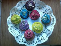Joli les petit cupcake coloré