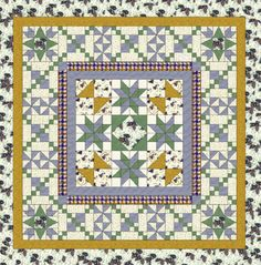 Pale Star Quilt Pattern Block | FaveQuilts.com