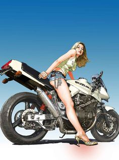 Mercenary Garage: Katana Girl  #SuzukiKatana #RideX #Mercenary #MercenaryGarage